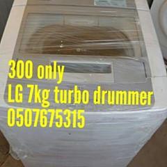 LG washing Machine 7kg turbo drummer