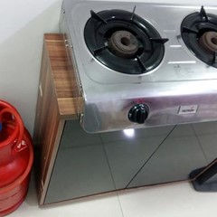 Gas cylinder + Stove
