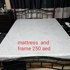 Mattress and Frame