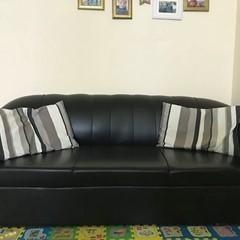 Black sofa 3 seater